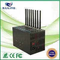 USB interface wavecome Q2303 Q2403 Q24PL001 multi sim card bulk sms imei changeable 8 port gsm modem