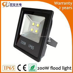 Low price aluminium alloy frame with led flood lights 50w