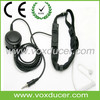 Military Police Use Throat Vibration Speaker with Mic Two Way Radio Heavy Duty Throat Microphone