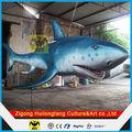 Equipos del parque del océano modelos de tiburones vivos