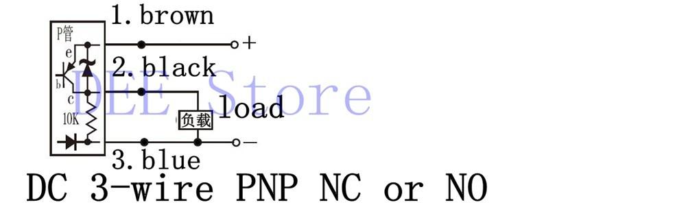 Wholesale-3Wire Inductive Proximity Sensor PNP NO DC 6-36V Proximity ...