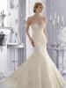 New design elegant high neck beaded Lace Custom Make Vestido De Novia sleeveless Mermaid Wedding Dress 2015