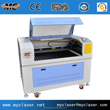 MC9060 handicrafts small stone CO2 laser engraving machine/Manufacture hot sale CNC laser engraving machine