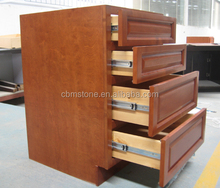 Wooden Simple Design Office 4 Drawers File Cabinet
