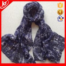 2015 Dark Blue Cotton Hot Arab Hijab Muslim Scarf