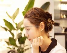 Wholesale High Quality Decorative Larger Hair Claw Fashion Korean Hair Claw Clip Fancy Flower Hair Claw