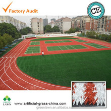 synthetic running track