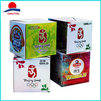 Strong Corrugated Wine Paper Packaging Box