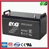 lead acid Batteries 12V 100ah deep cycle battery for solar power system