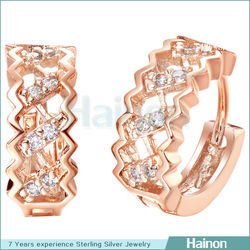 light weight gold earring wholesale