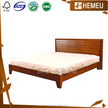Foshan furniture Northern Europe style elegant wood Executive bed