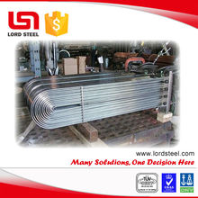 A213 u tube stainless steel pipe bend 180 degree