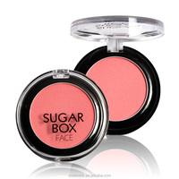 Sugar box Natural Makeup 8 colors Blush Palette the balm blush paleta de blush Beauty girl sleek Rouge Blusher S18