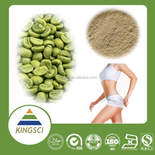 cGMP Factory Supply Nature Coffee Bean Extract Lose Weight Supplement Additive Chlorogenic Acid Powder KS-13