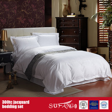 300TC Jacquard Wholesale Bedding Set Hotel And Home Cheap Bed Linen