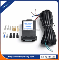 ECU kit/gas timing advancer for motorcycle