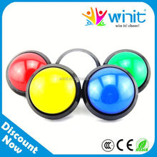Promotional electric game machine arcade button 12 volt illuminated waterproof push button switch for arcade machine