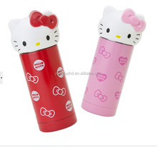 360ml double wall stainless steel Hello Kitty vacuum flask for lady