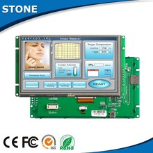 TFT controller color tft active matrix lcd RS232 interface 7 inch