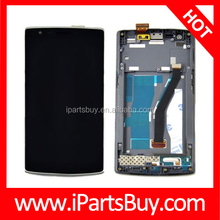 All in one LCD Display + Touch Screen Digitizer Assembly with Frame for OnePlus, wholesale China mobile phone Oneplus One / Two
