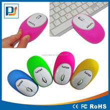 Crush resistance 2.4 GHz Optical USB Gel Wireless Mouse with mini Receiver for Mac Laptop PC Macbook