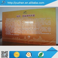 2015 new Pop up cardboard display banner stand printing for advertising