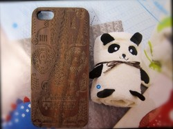 New hot selling mobile phone case for iphone 5,Black walnut wood pc case, with engrave yourself logo for iphone5 cover