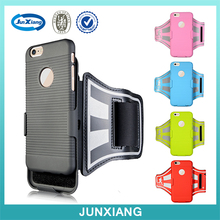 Lycra mobile phone sports armband for iphone 6 with key holder