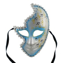 Half face masquerade masks party mask party face mask for party and Hallowmas
