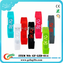 2015 wholesale alibaba 12 colors sport digital watch water resist silicone led bracelet watches