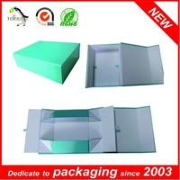 cardboard paper folding rigid box with logo printing