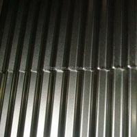 zinc aluminium alloy coated corrugated steel roofing sheet