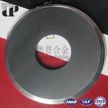 Plantas stock 100% material virgen YG8 OD200 * ID70 * 3.5 mm carburo de tungsteno circular cortador