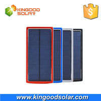 University capacity 20000mah solar powerbank charger for all mobile phones