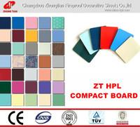 HPL/high pressure laminate;compact board;formica laminate sheets