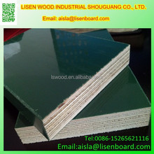 wood phenolic board for construction with laminated film ,Shuttering Ply wood for Construction