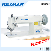 KM0302 Top and bottom feed walking foot sewing machine 0302 for medium and heavy material