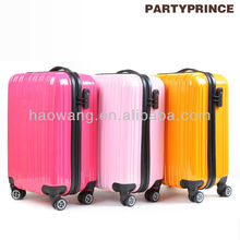 PC-0823 ABS+PC beautiful dark blue plastic travel luggage case