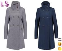 Wholesale New Model Fashion Classic Wool Women's Coat