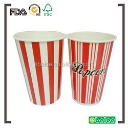 46oz paper popcorn cup,popcorn bucket,popcorn tub