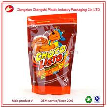 zip lock plastic pet food bag