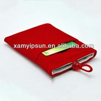 High Quality Velvet mobile phone bag/Mobile phone Pouch