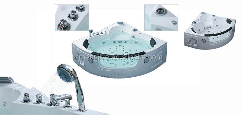 2014 massage bathtub with whirlpool for bathroom corner