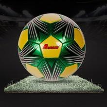 Machine stitched custom logo print great design soccer ball