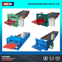 2015 Hot Sale High Speed Metal Sheet Roof Tile Making Machine Glazed Tile Machine