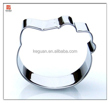 CU-140 Best Selling Hello Kitty Head Cookie Cutter- Stainless Steel
