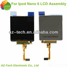 For ipod nano lcd+touch screen digitizer 6th gen