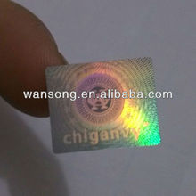Top quality cheap custom hologram sticker, hologram mobile phone sticker with best price
