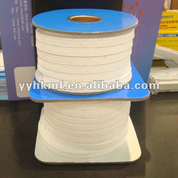 High Temperature Pressure 100% Pure Teflon/PTFE Without Oil Pump Gland Packing