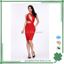 High quality sexy keyhole ladies night dress sexy girls party dresses